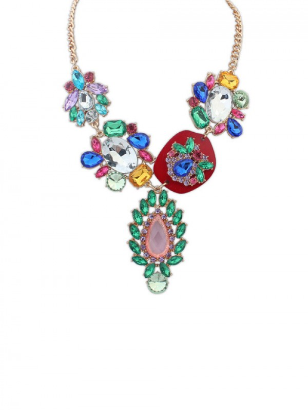 Occident Gorgeous Multicolor Trendy Ketting (J1109841JR)
