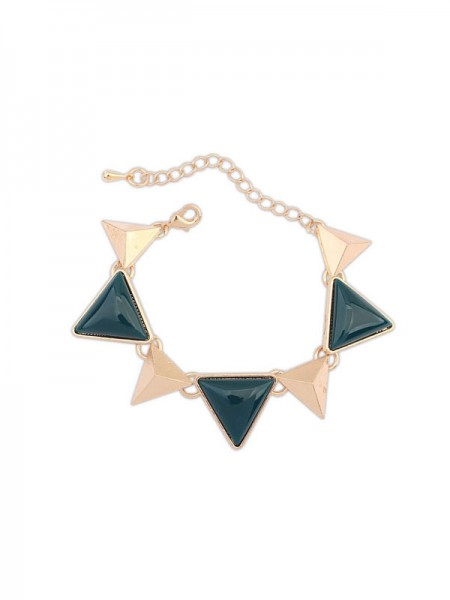 Occident Retro Punk Geometry Triangle Armbanden (J3106366JR)